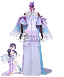 Love live! Lovelive! White Day Nozomi Toujou Cosplay Costume