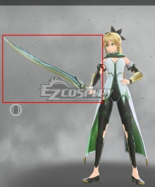 Sword Art Online Alicization Lycori Leafa Kirigaya Suguha Prize Cosplay Weapon Prop