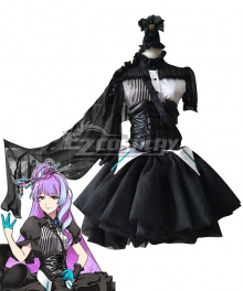 Uta Macross Macross Delta Macross Δ Mikumo Black Dress Cosplay Costume