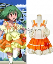 Macross Frontier Ranka Lee Dress Cosplay Costume