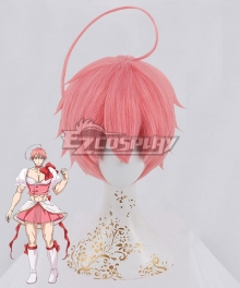 Magical Girl Ore Magical Girl Saki Uno Male Pink Cosplay Wig