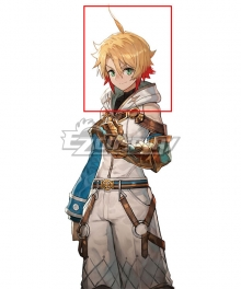 Maglam Lord Darris Golden Red Cosplay Wig