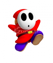 Mario Kart 8 Shy Guy Cosplay Costume