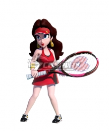 Super Mario Odyssey Pauline Cosplay Costume