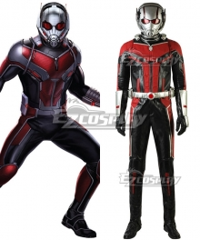 Marvel 2018 Ant Man2:Ant Man And The Wasp Scott Edward Harris Lang Cosplay Costume - No Helmet