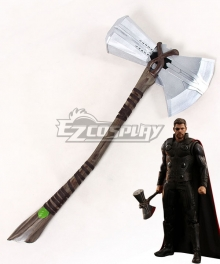 Marvel 2018 Avengers 3: Infinity War Thor Odinson Axe Cosplay Weapon Prop