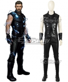 Marvel 2018 Avengers 3: Infinity War Thor Odinson Cosplay Costume