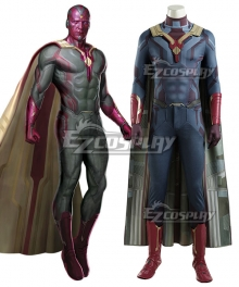 Marvel 2018 Avengers: Infinity War Vision Cosplay Costume