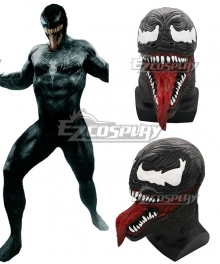 Marvel 2018 Movie Venom Halloween Mask Cosplay Accessory Prop