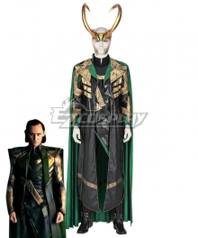Marvel 2021 Loki Loki New Upgraded Halloween Party Cosplay Costume