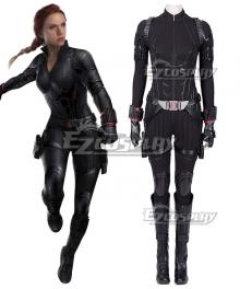 Marvel Avengers 4: Endgame Avengers Black Widow Natasha Romanoff Halloween Cosplay Costume