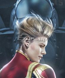 Marvel Avengers 4: Endgame Captain Marvel Carol Danvers Golden Cosplay Wig