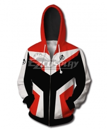 Marvel Avengers: Endgame Avengers Superhero The Quantum Realm Coat Hoodie Cosplay Costume