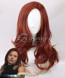 Marvel Avengers: Endgame Black Widow Natasha Romanoff New Edition Brown Cosplay Wig