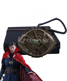 Marvel Avengers: Infinity War Doctor Strange Stephen Steve Vincent Strange Eye Of Agamotto Necklace Cosplay Accessory Prop