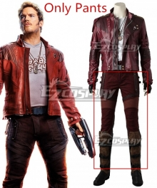 Marvel Avengers: Infinity War Guardians Of The Galaxy Vol. 2 Star-Lord Peter Jason Quill Cosplay Costume - Only Pants