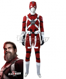Marvel Black Widow 2020 Red Guardian Cosplay Costume