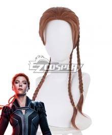 Marvel 2020 Black Widow Natasha Romanoff Brown Cosplay Wig
