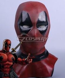 Marvel Deadpool Wade Winston Wilson Mask Cosplay Accessory Prop