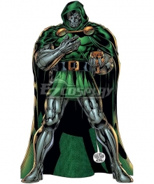 Marvel Doctor Doom Victor von Doom Cosplay Costume