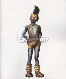 Marvel Moon Girl Lunella Lafayette Cosplay Costume
