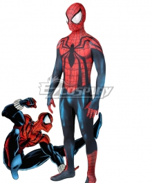 Marvel Spider-Man Ben Reily Spiderman Zentai Jumpsuit Cosplay Costume