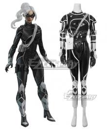 Marvel Spider-Man PS4 Spiderman The Heist Felicia Hardy Black Cat Cosplay Costume