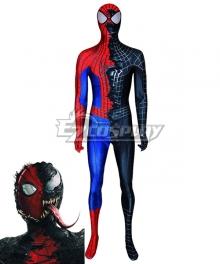 Marvel Spider-Man Spider Man Peter Benjamin Parker Venom Edward Eddie Cosplay Costume