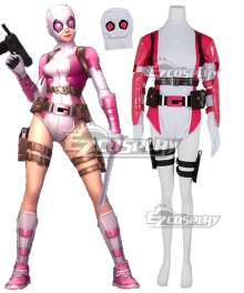 Marvel Superhero Gwenpool Cosplay Costume - No Mask