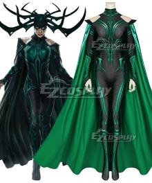 Marvel Thor 3 Ragnarok Trailer Hela Zentai Jumpsuit Cosplay Costume