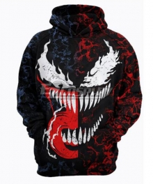 Marvel Venom Edward Eddie Brock Coat Hoodie Cosplay Costume