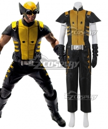 Marvel Wolverine Cosplay Costume