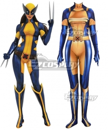 Marvel X-Men Wolverine X-23 Jumpsuit Cosplay Costume