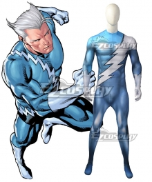 Marvel X-Men Quicksilver Cosplay Costume