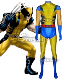 Marvel X-Men Wolverine Jumpsuit Zentai Jumpsuit Cosplay Costume