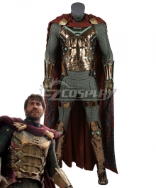 Marvel 2019 Spider-Man: Far From Home Mysterio SpiderMan Cosplay Costume