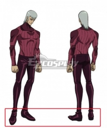 Megalo Box Yuri Purple Red Cosplay Shoes
