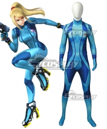 Metroid Samus Aran Cosplay Costume