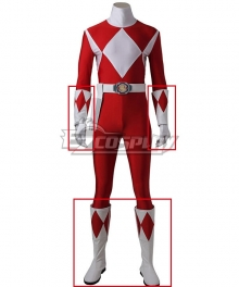 Mighty Morphin' Power Rangers Geki Tyranno Ranger Cosplay - Only Hand guards, Gloves, Boots