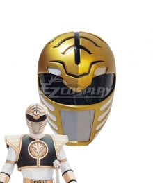 Mighty Morphin Power Rangers White Ranger Helmet Cosplay Accessory Prop