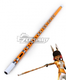 Miraculous Ladybug Lila Rossi Volpina Flute Cosplay Weapon Prop
