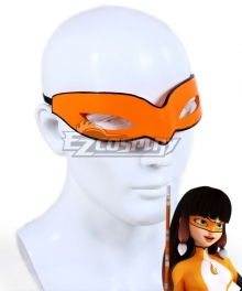 Miraculous Ladybug Lila Rossi Volpina Mask Cosplay Accessory Prop