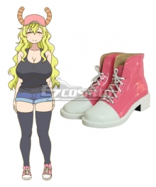 Miss Kobayashi's Dragon Maid Quetzalcoatl Lucoa Cosplay Shoes