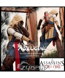 Assassin's Creed III Connor Render Cosplay Costume New Arrival