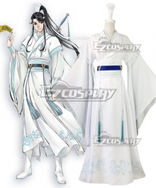 The Grandmaster of Demonic Cultivation Mo Dao Zu Shi Lan Sizhui Wen Yuan Cosplay Costume