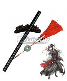 The Grandmaster of Demonic Cultivation Mo Dao Zu Shi Wei Wuxian Chenqing Flute Cosplay Accessory Prop