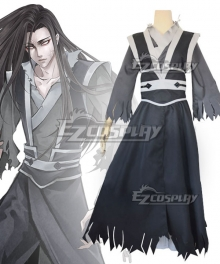 The Grandmaster of Demonic Cultivation Mo Dao Zu Shi Wen Ning Ghost General Cosplay Costume