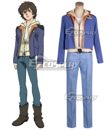 Mobile Suit Gundam Unicorn Banagher Links Cosplay Costume