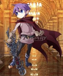 Monster Girl Quest Luka Purple Cosplay Wig