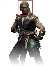 Mortal Kombat 11 Aftermath Fujin Gray Cosplay Wig
